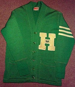 "Heilwood ""H Club"" Sweater (circa 1949)"