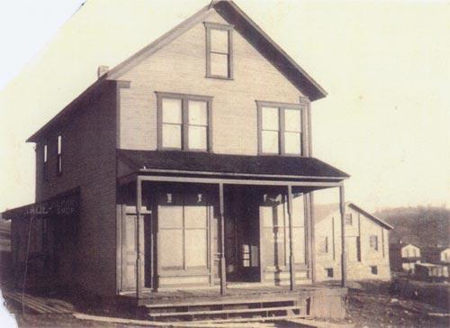 Barber Shop, circa 1920