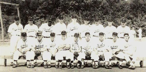1948 Heilwood baseball team (first half champions of the Rochester & Pittsburgh Baseball League)