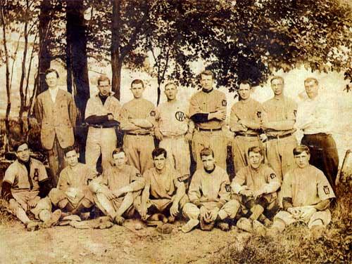 Heilwood baseball team, date unknown.