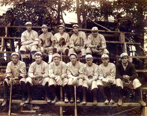 Heilwood baseball team, date unknown.