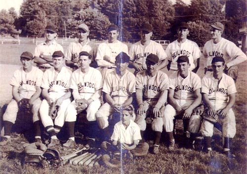 1947 Heilwood baseball team (Rochester & Pittsburgh Baseball League)