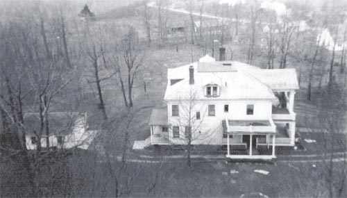 Another view of the Big House (circa 1943)