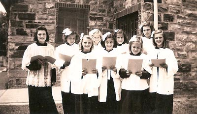 St. John's Catholic Church Choir (1939)