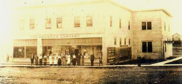 The second Heilwood Company Store, opened in 1910.