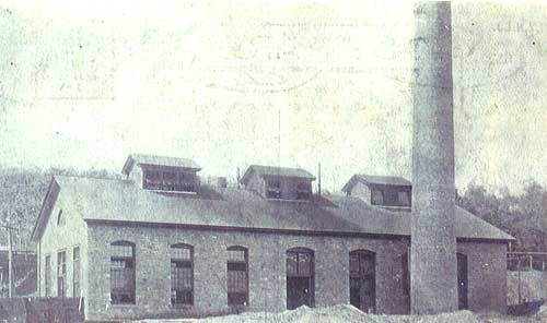 The Heilwood coal mine power plant, circa 1906