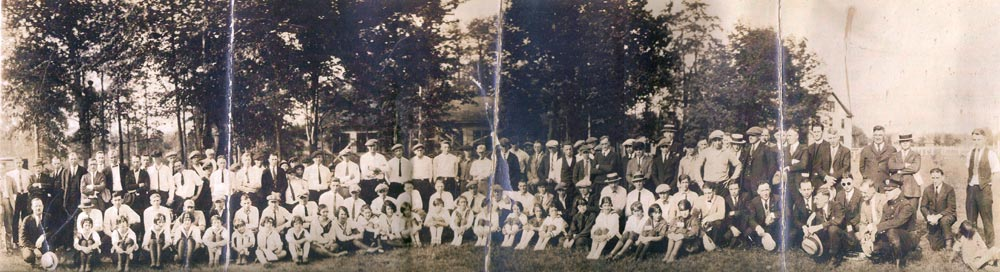 First Aid Meet in Heilwood (1924) (click to enlarge)