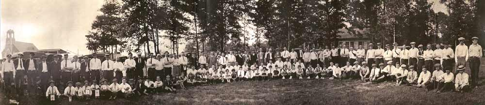 First Aid Meet in Heilwood (1926) (click to enlarge)