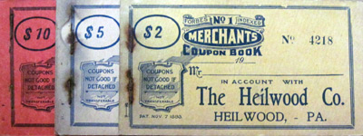 Heilwood Company Coupon Book