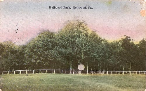 Heilwood Park postcard
