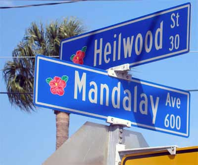 Heilwood St. in Clearwater Beach, FL