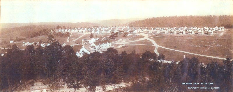 View of Heilwood in 1908