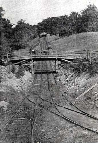 Inclined plane, Mine #4, located in the #2 area (circa 1905)