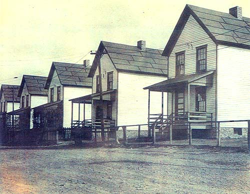 Mine Workers' Homes on 3rd Street, circa 1940
