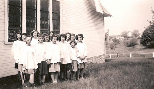 Heilwood Presbyterian Church Choir (1945)