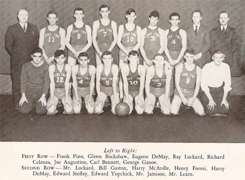Pine Township High School - 1946 Basketball Champs
