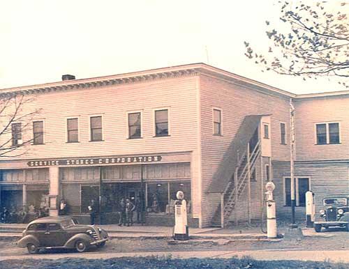 Service Stores Corporation Company Store, circa 1940.