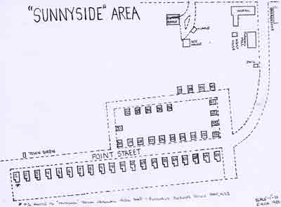 Map of the Sunnyside area (circa 1926)