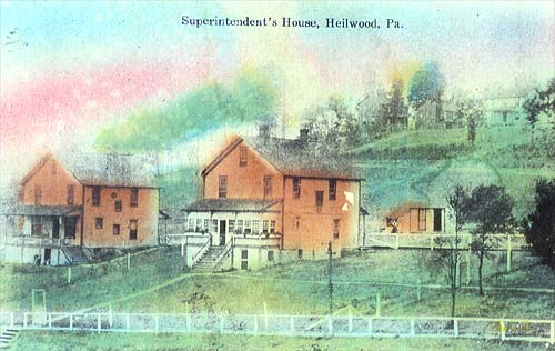 First Superintenent's House, circa 1907
