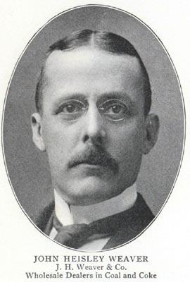 John Heisley Weaver, circa 1902