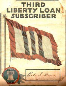 Third Liberty Loan Subscriber poster (1918)