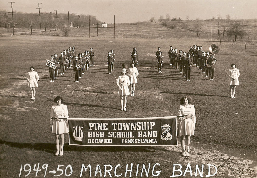 1949-50 PTHS Marching Band