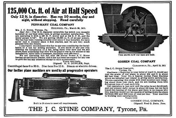Ad for an incline plane machine