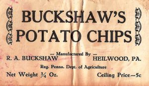 Buckshaw's Potato Chips