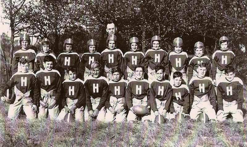 Heilwood Catholic Youth Football Team (circa 1944)