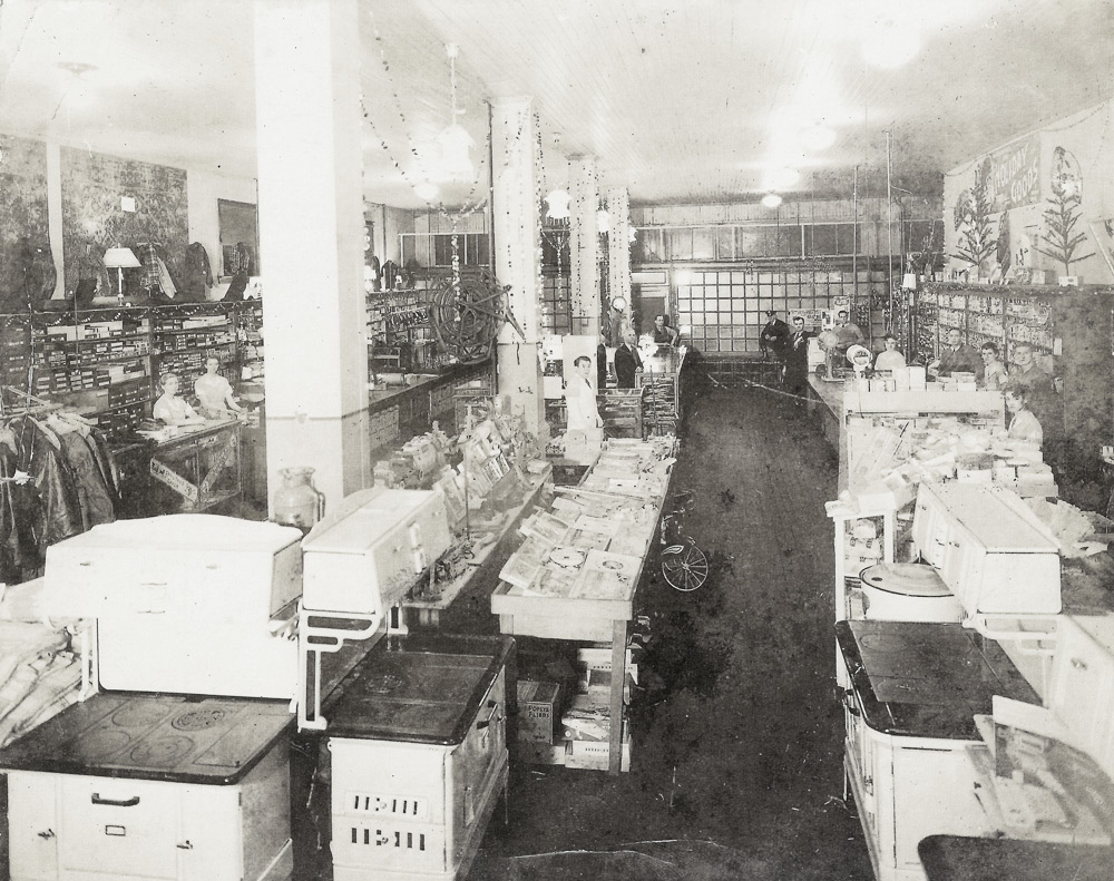 Interior of the Company Store (circa 1936)