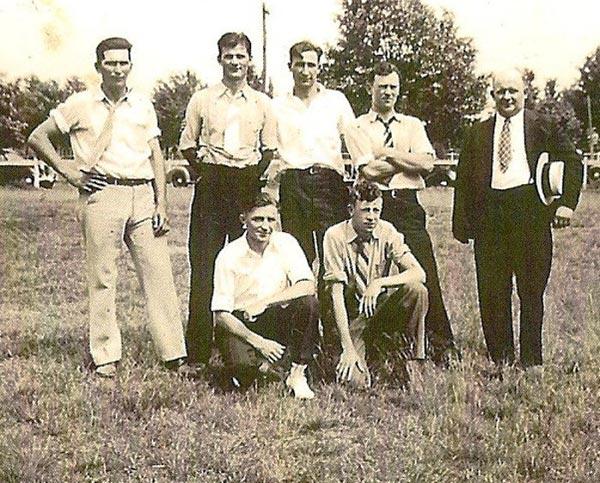 First aid meet winners, June 1939