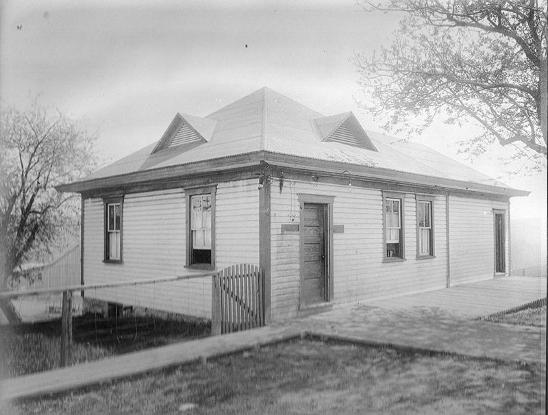 Early doctor's office on First Street.