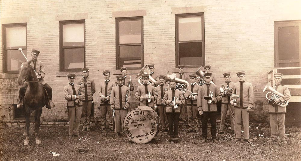 Penn Mary Coal Company Band, date unknown