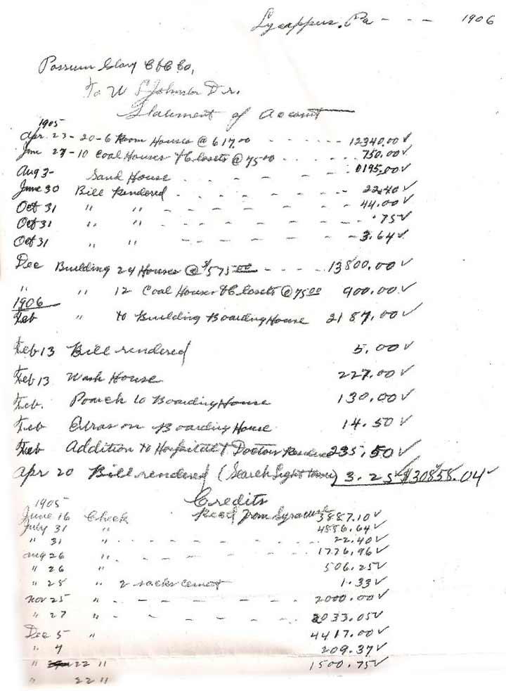 Heilwood building costs