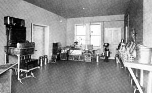 Heilwood Dairy Bottling Room