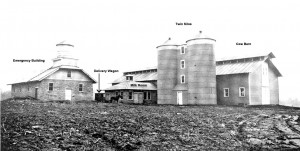 Exterior view of the Heilwood Dairy