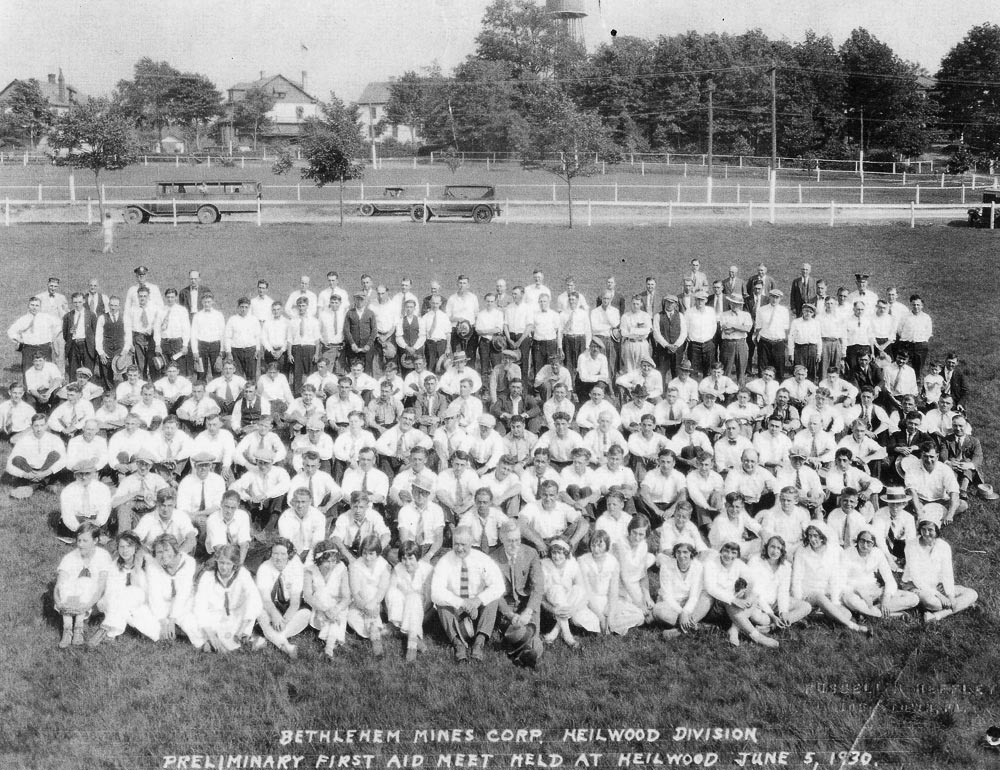 First Aid Meet held in Heilwood on June 5, 1930