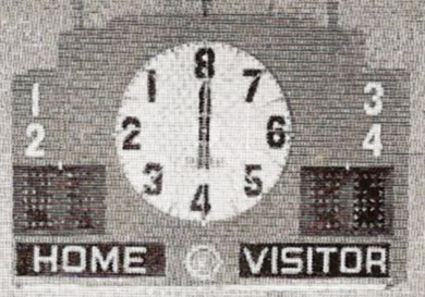 Electric scoreboard for the remodeled gymnasium purchased by the student activity fund, circa 1949