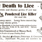 Newspaper ad for product sold by the Heilwood Milling Co.