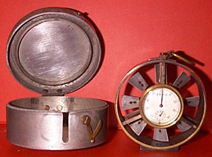 Anemometer used in the Heilwood mines, made by John Davis & Sons of Baltimore, Maryland