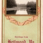 1912 Greetings from Heilwood, Pa. postcard