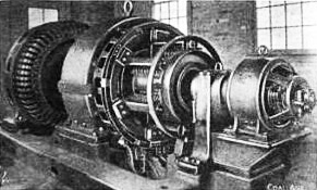 Alternating current generator