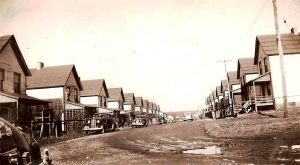 3rd Street in Heilwood, circa 1942