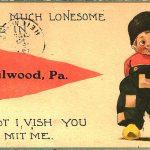 """Heilwood """"Dutch boy"""" postcard, 1913"""