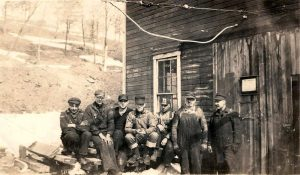 Workers at the car repair shop in Heilwood