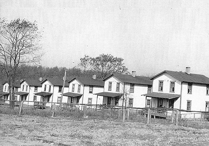 Pine Street, houses #50-55 (circa 1939)