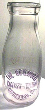 Heilwood Dairy Farm Bottle