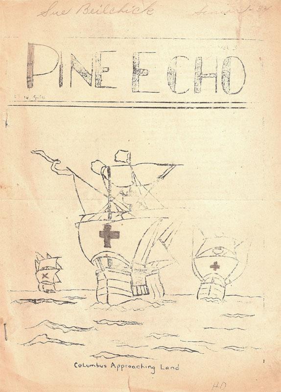 Pine Echo (September 1934)