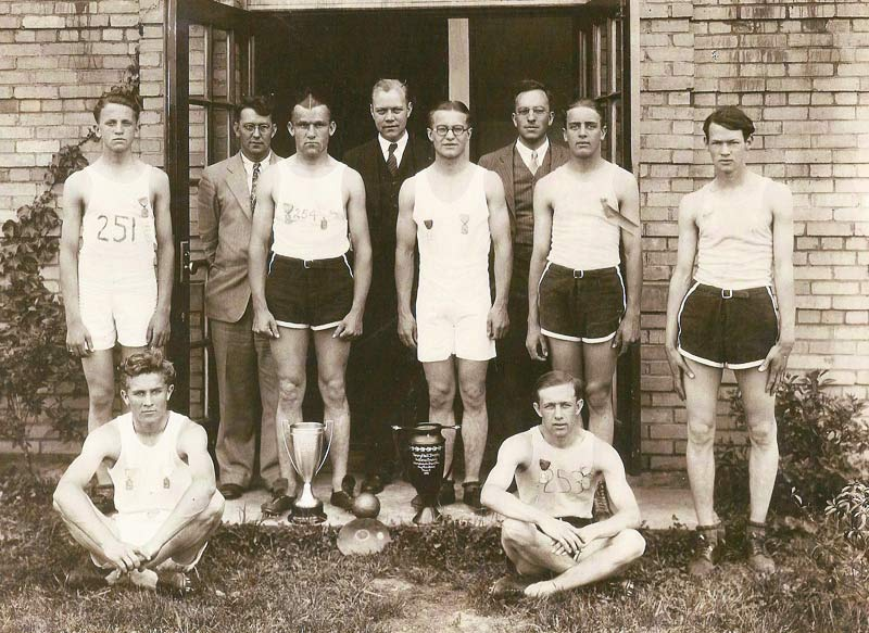 Pine Township High School Track Champions (1930)