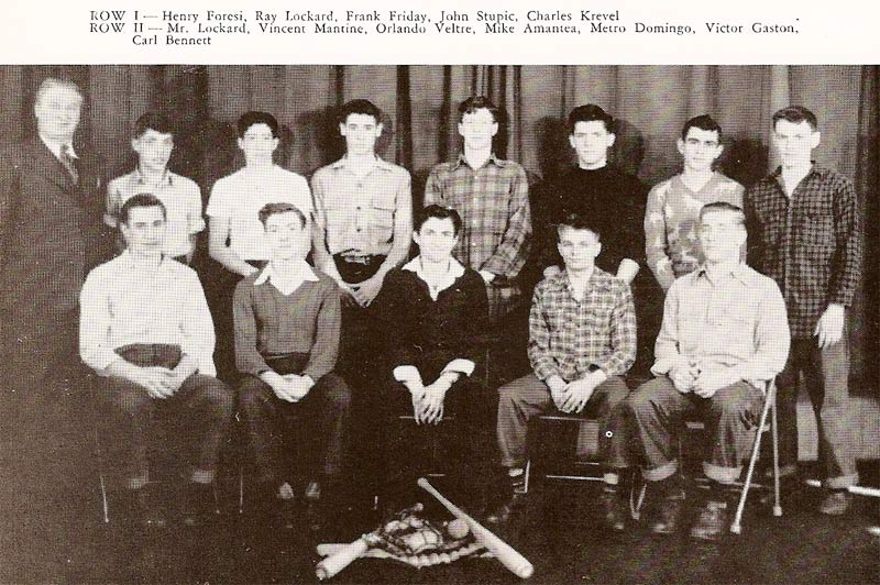 Pine Township High School Baseball (1947)
